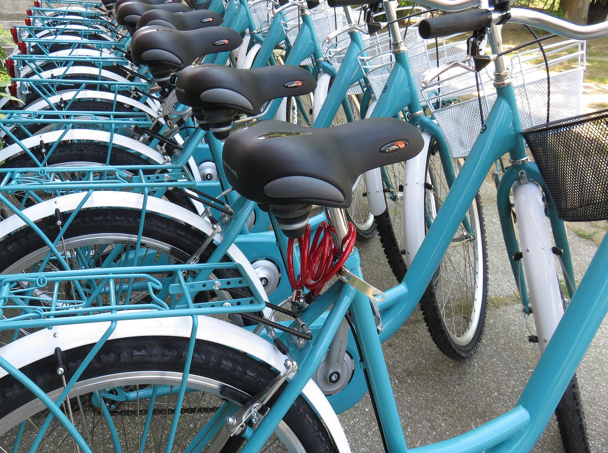 parco bici per hotel e campeggi
